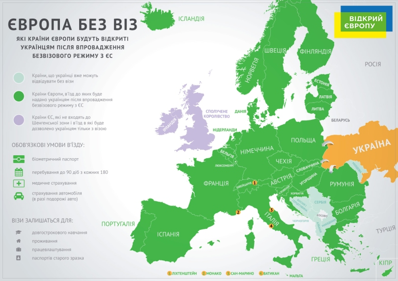 Open Europe Map